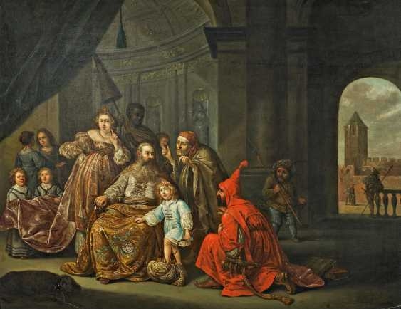 Koninck, Salomon. Moses occurs on the crown of the Pharaoh. - photo 1