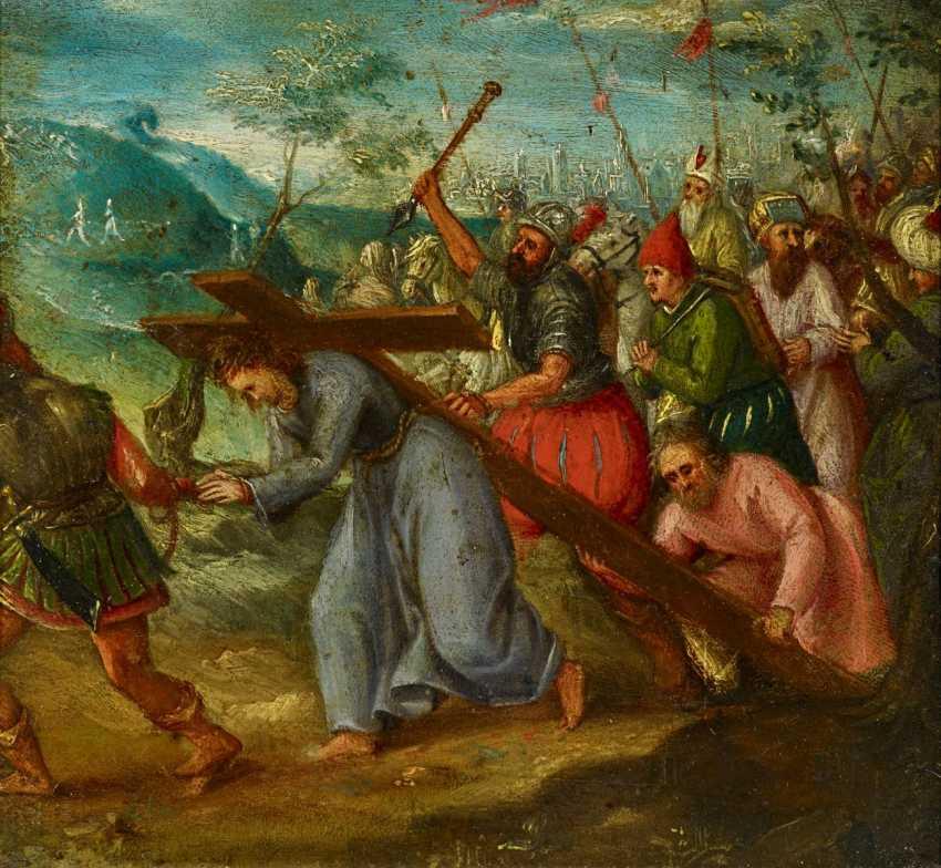 Flemish Masters. The Cross-Bearing Of Christ. - photo 1