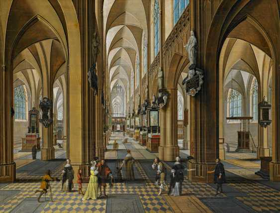 Neeffs the younger, Peeter. In the Interior of the Church of our lady in Antwerp. - photo 1