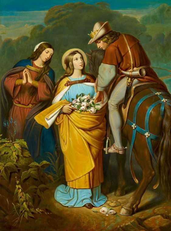 Schwind, Moritz von. The rose miracle of St. Elizabeth. - photo 1