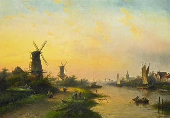 Spohler, Jan Jacob Coenraad. Dutch Channel Landscape. - photo 1