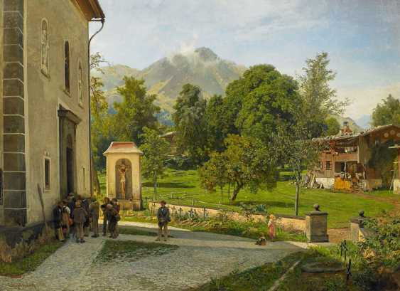 Achenbach, Oswald. Sunday in South Tyrol. - photo 1