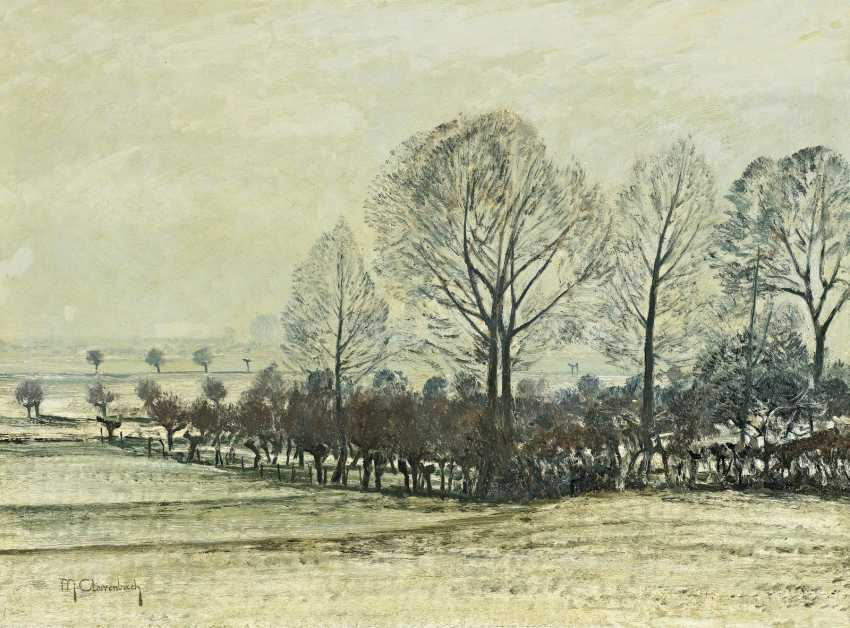 Clare Brook, Max. Winter on the lower Rhine. - photo 1