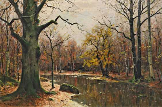 Moras, Walter. Autumn in the spree forest. - photo 1