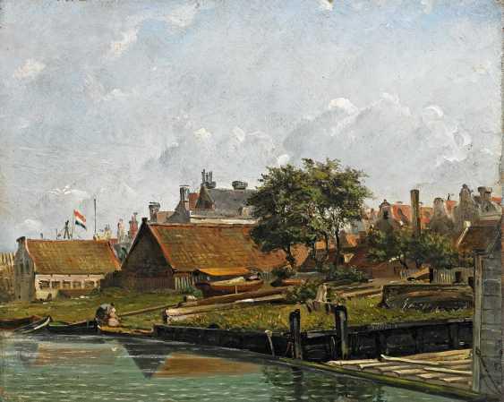 Deventer, Willem Anthonie van. Shipyards in the case of a Dutch coastal town. - photo 1