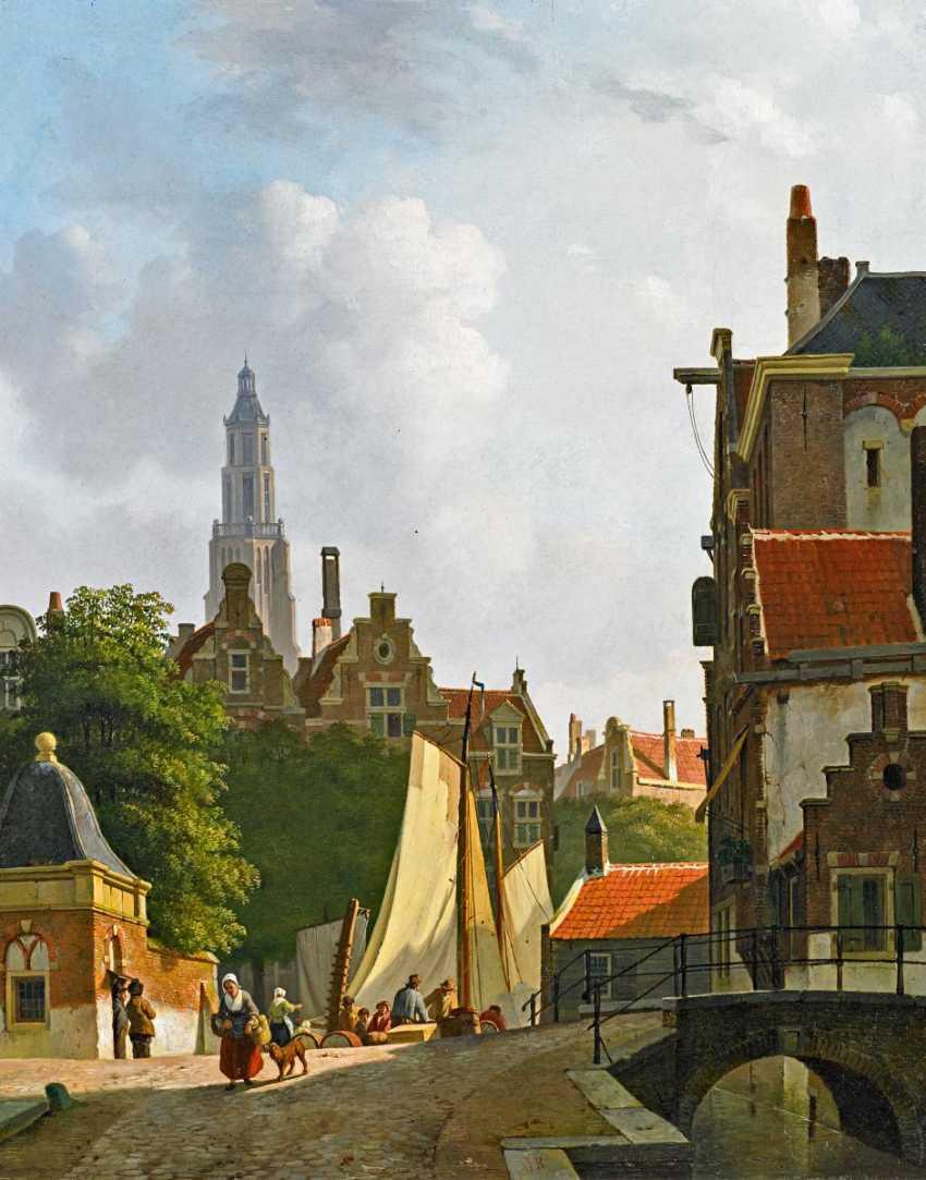 Rutten, Johannes Jan. Partie in Gouda. - photo 1