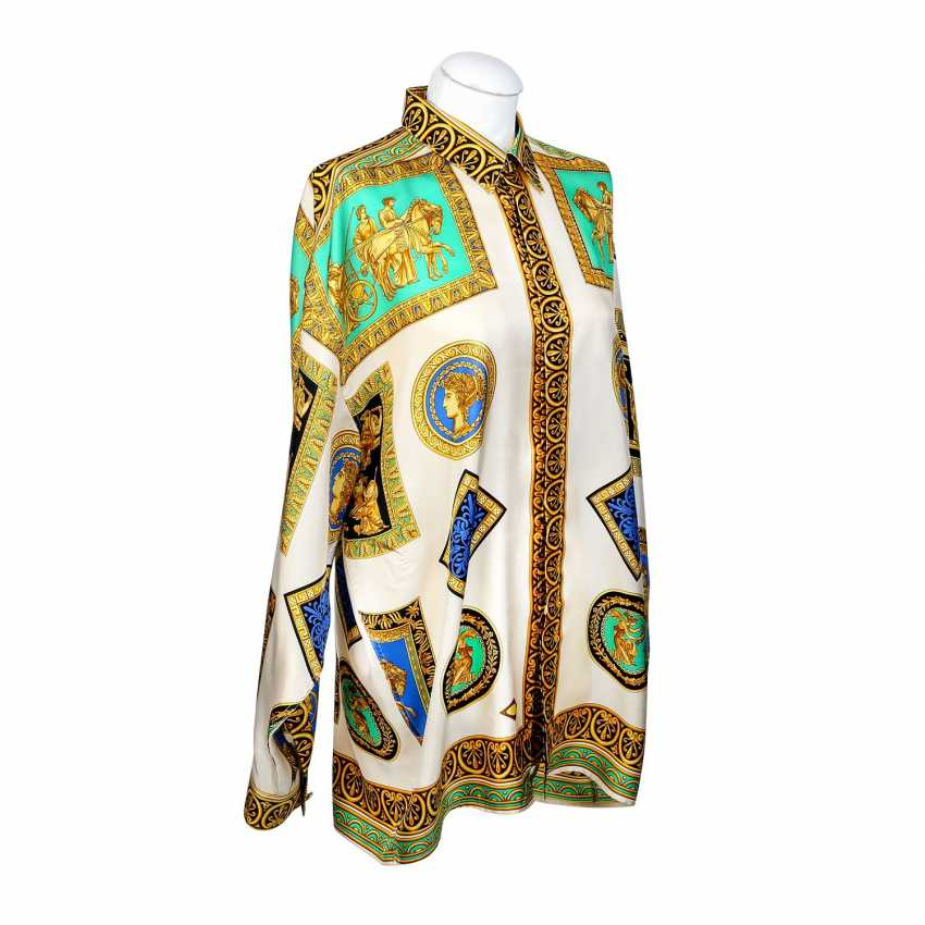 d4e0ddd9d Lot 116. V2 BY VERSACE VINTAGE silk shirt, Size L. from the catalog ...