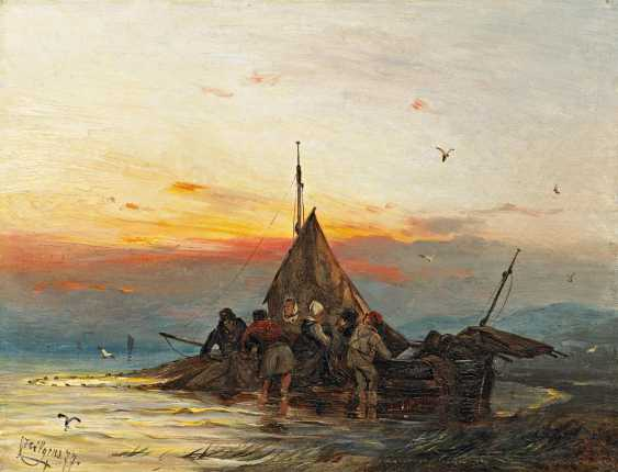 Hilgers, Carl. The homecoming of the fishermen. - photo 1