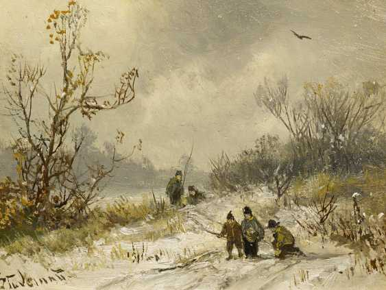Stade Man, Adolf. Angler's delights in the Winter. - photo 1