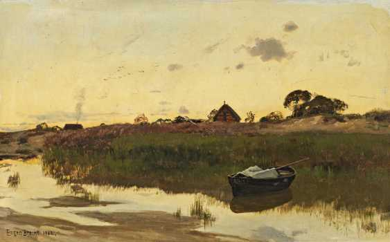 Bracht, Eugen. Bodden landscape. - photo 1