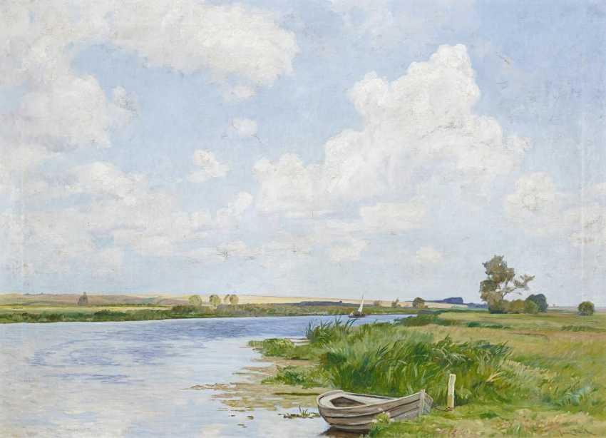 Bunke, Franz. Mecklenburg Landscape. - photo 1