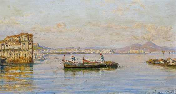 Carelli, Joseph. Fischerboote vor Neapel. - photo 1