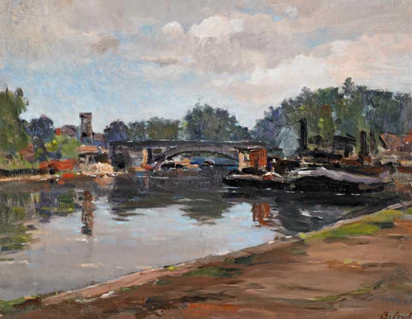 Biloul, Louis-François. Am Seineufer. - photo 1
