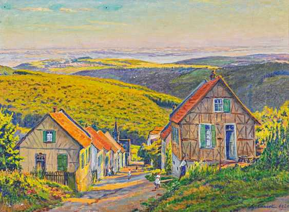 Cariot, Gustave. View Georg born in the Rheingau. - photo 1