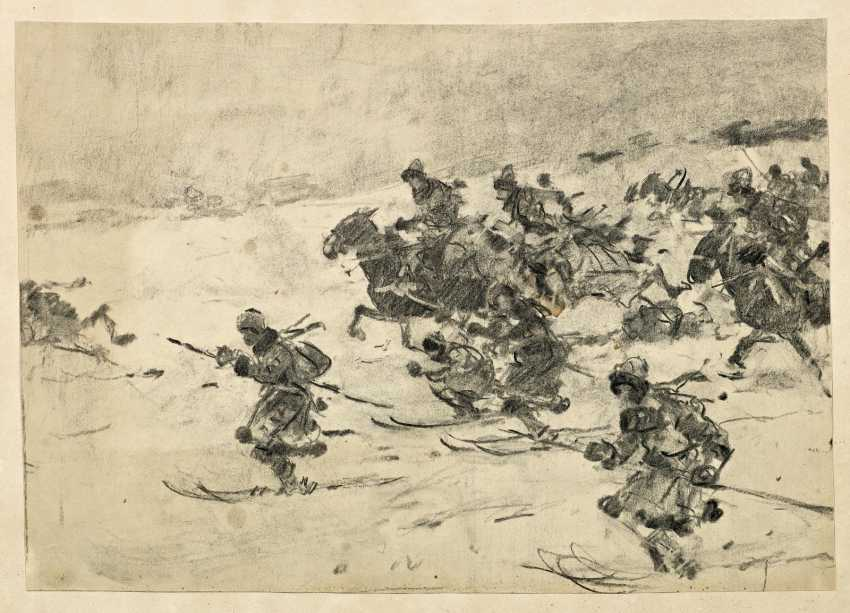 Ungewitter, Hugo. On skis and horses-attacking hunters. - photo 2