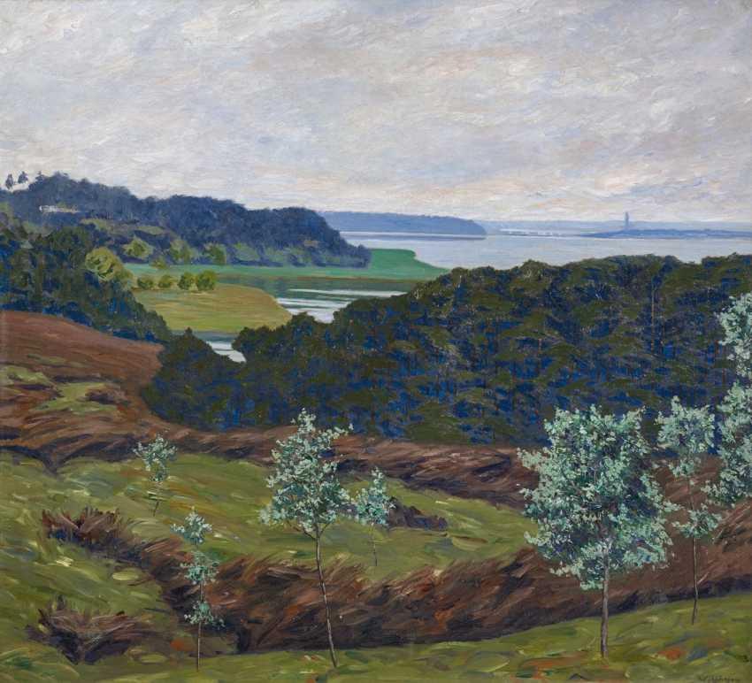 Wild Fritz Hagen,. Wide lakes in Mecklenburg. - photo 1