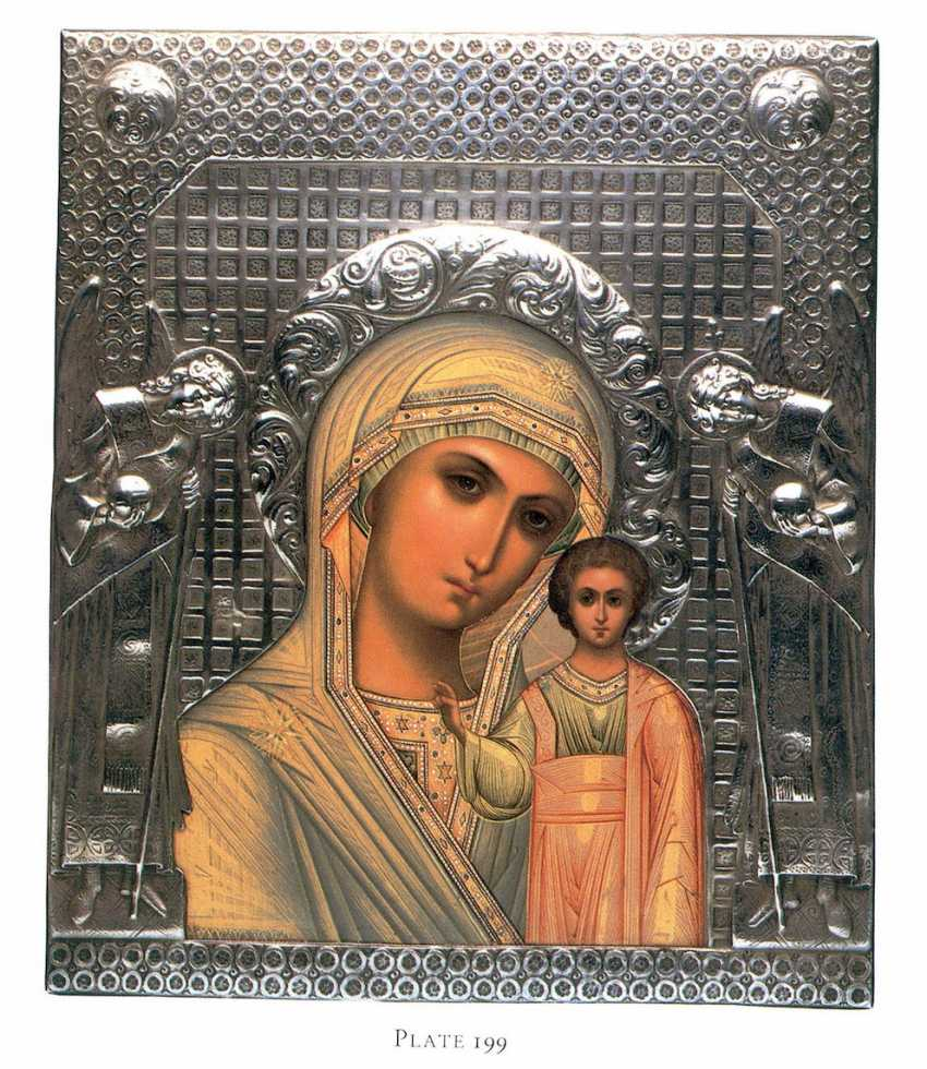 An extremely rare icon of the Holy mother of God - photo 6