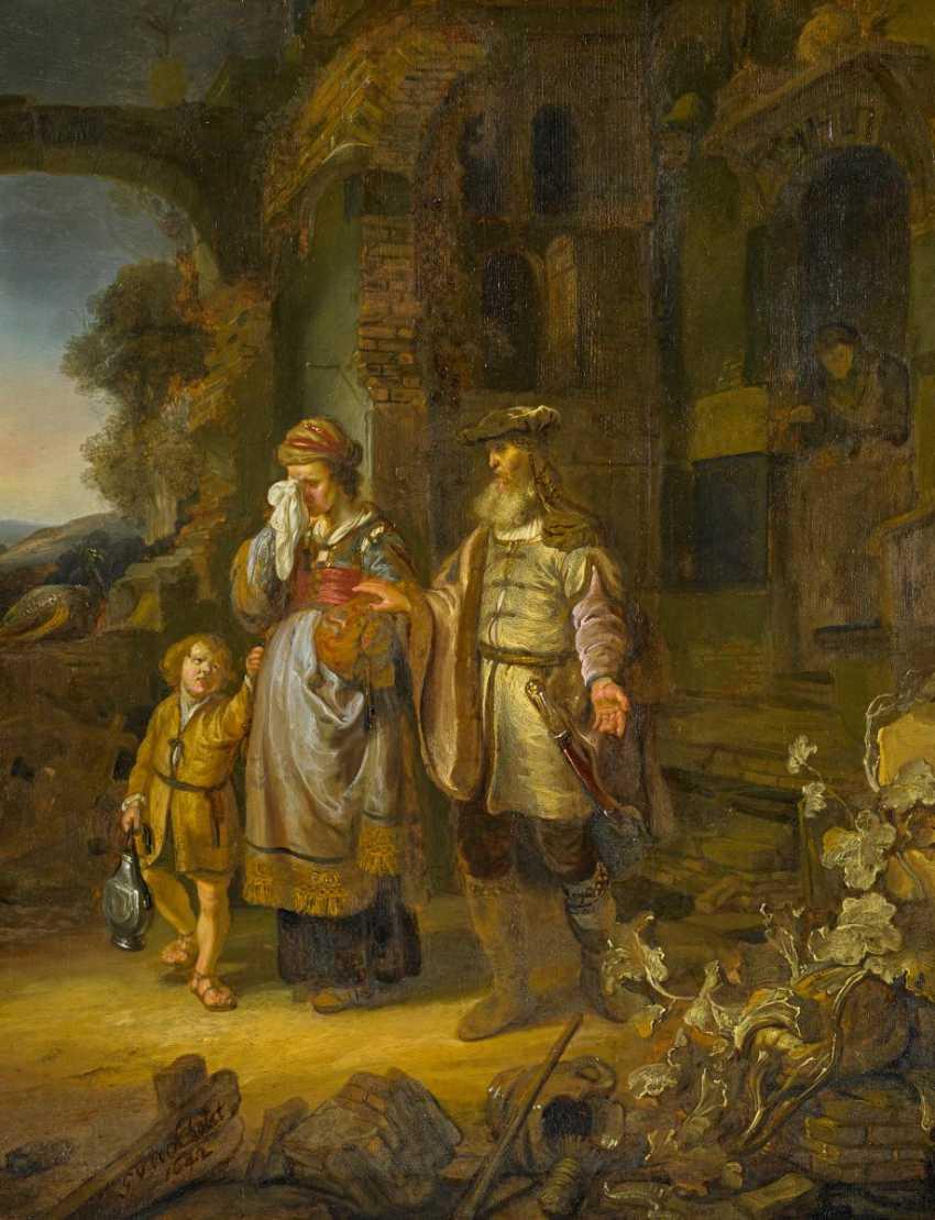Eeckhout, Gerbrand van den. The repudiation of Hagar. - photo 1