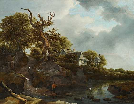Ruisdael, Jacob Isaackszoon van. Landscape with house and dovecote. - photo 1