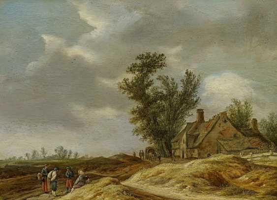 Nolpe, Pieter. Dune landscape with farmhouse. - photo 1