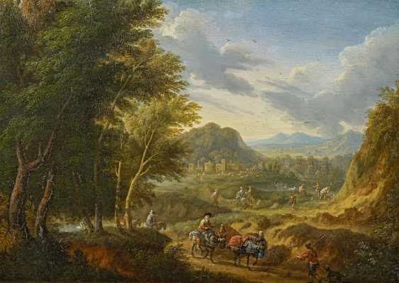 Schoevaerdts, Mathys. Landscape with figure staffage. - photo 1