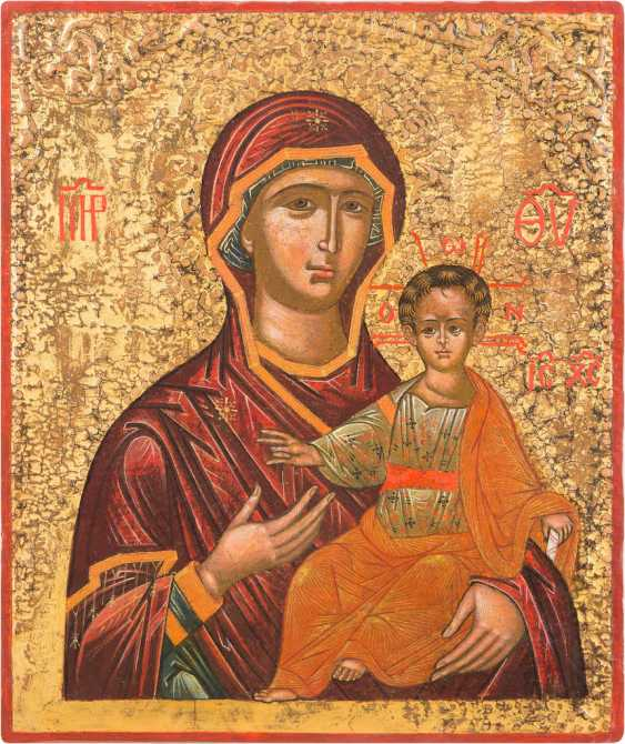 ICON OF THE MOTHER OF GOD HODEGETRIA - photo 1