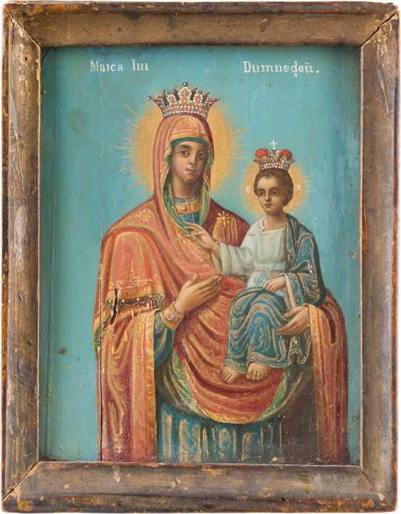 SMALL ICON OF MOTHER OF GOD HODEGETRIA - photo 1