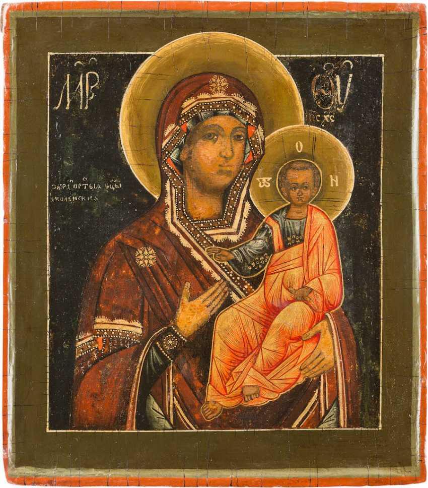ICON OF THE MOTHER OF GOD OF SMOLENSK (SMOLENSKAYA) - photo 1