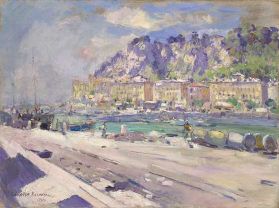KOROVIN, KONSTANTIN (1861-1939) Le Port de Nice , signed and dated 1922. - photo 1
