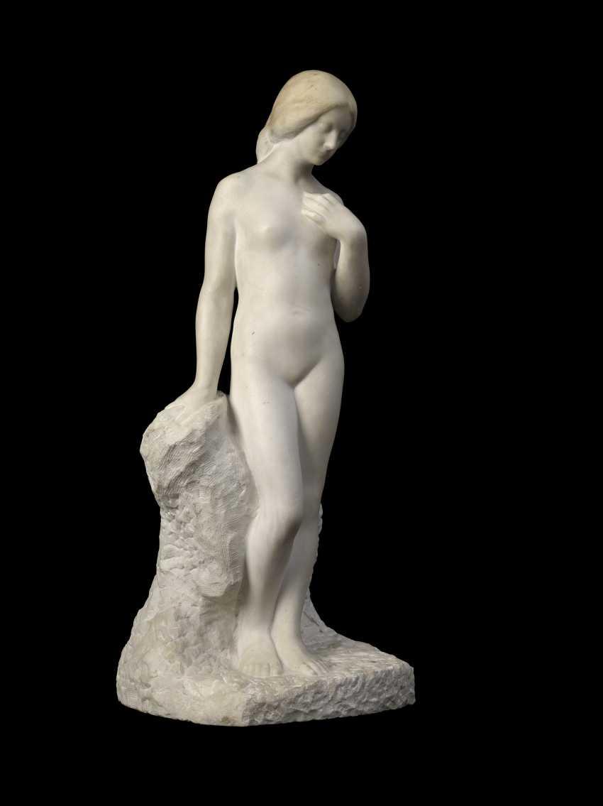 ARONSON, NAUM (1873-1943) Standing Nude , signed. - photo 1