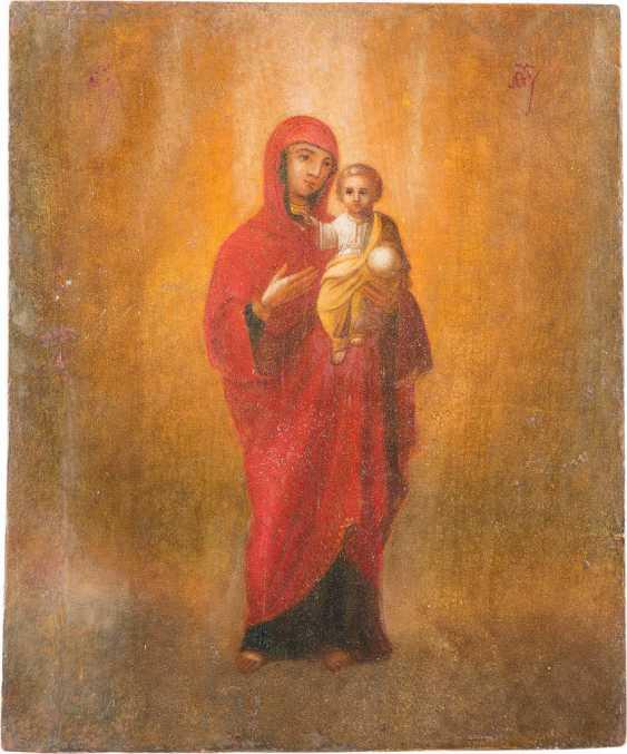 RARE ICON OF THE MOTHER OF GOD 'AKAFISTNAJA' (MY HEAVEN) - photo 1