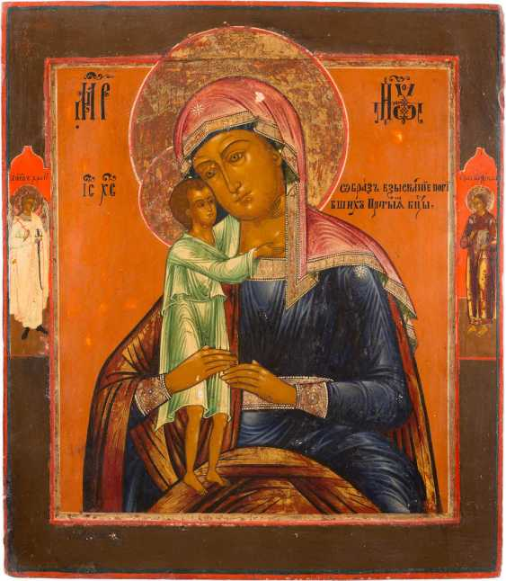 LARGE-SCALE ICON OF THE MOTHER OF GOD 'FINDING THE LOST' - photo 1
