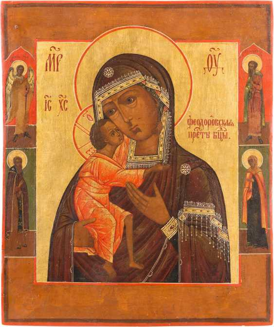 ICON OF THE MOTHER OF GOD OF FEODOR (FEODOROWSKAJA) - photo 1