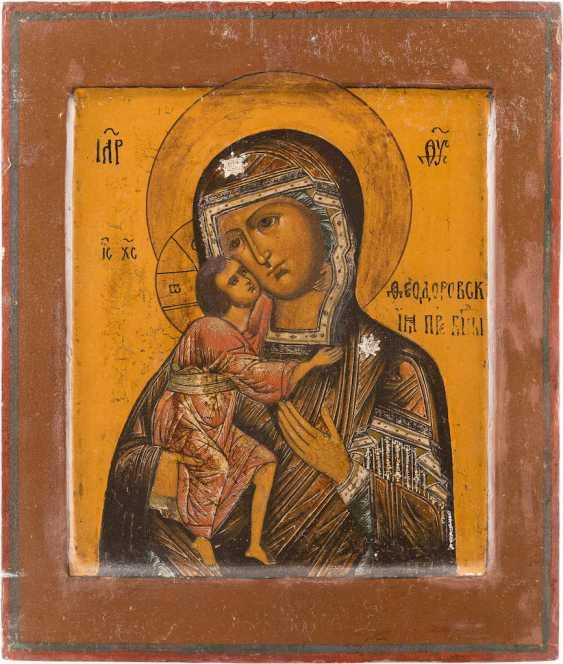 ICON OF THE MOTHER OF GOD FEODOROWSKAJA - photo 1