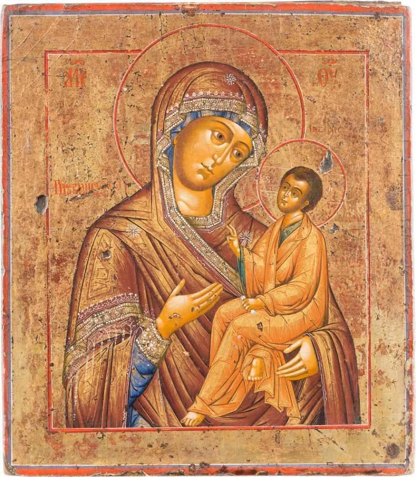 ICON OF THE MOTHER OF GOD OF TIKHVIN (TICHWINSKAJA) - photo 1