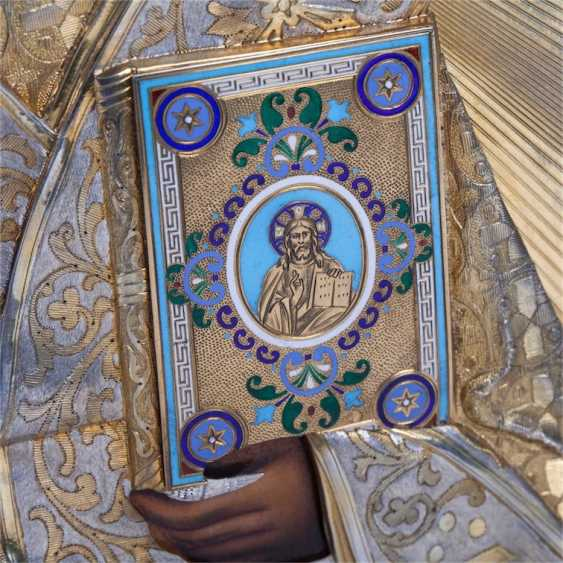 A rare icon of Saint Nicholas the Wonderworker - photo 3