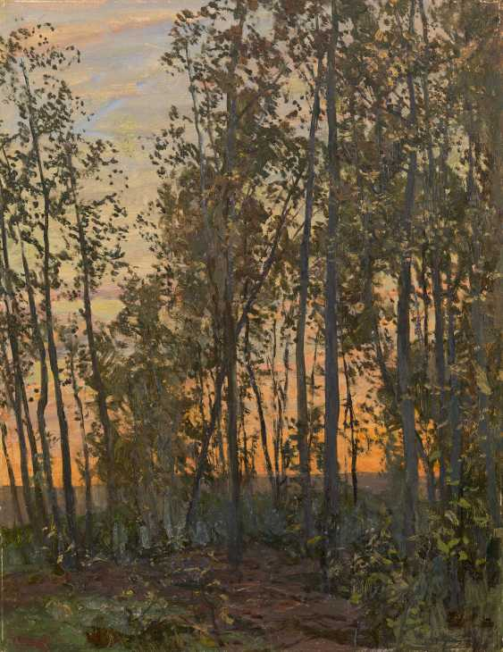 GRITSAI, ALEXEI (1914-1998) Sunset. Aspen Forest , signed and dated 1976. - photo 1