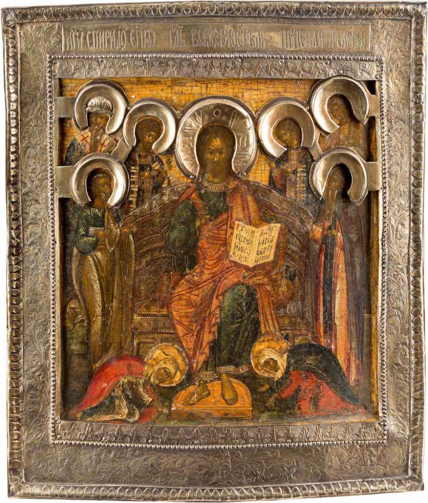 ICON OF THE EXTENDED DEESIS WITH VERMEIL-BASMA - photo 1