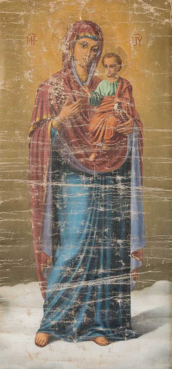 THE MOTHER OF GOD WITH THE CHRIST CHILD - photo 1