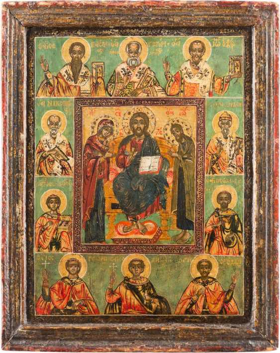 ICON WITH DEESIS AND SELECTED SAINTS - photo 1