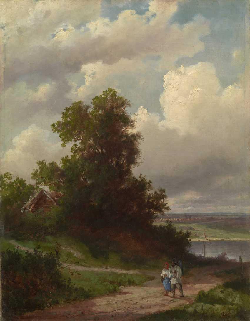 SAVRASOV, ALEKSEI (1830-1897) Road by the Volga River  - photo 1
