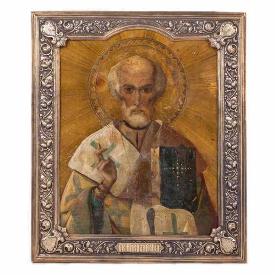 Icon Of St. Nicholas The Wonderworker