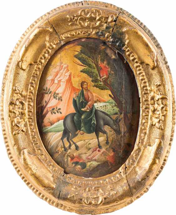 FEW ICONS OF THE FLIGHT INTO EGYPT AND THE ENTRY INTO JERUSALEM - photo 2