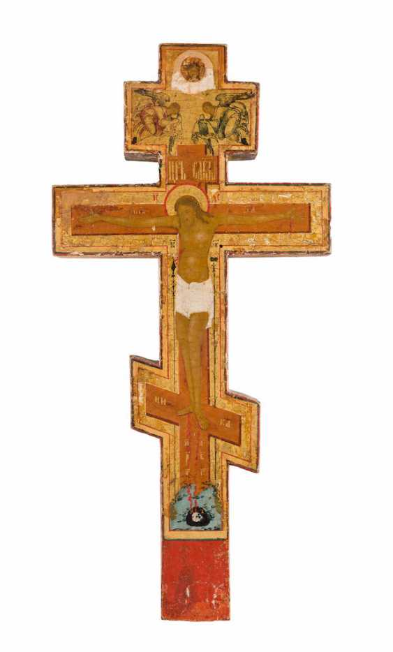 HOUSE CROSS WITH THE CRUCIFIXION OF CHRIST - photo 1