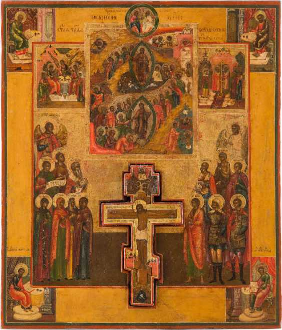 ORIGINATING WITH THE CRUCIFIXION OF CHRIST, THE ANASTASIS AND THE SELECTED SAINTS - photo 1