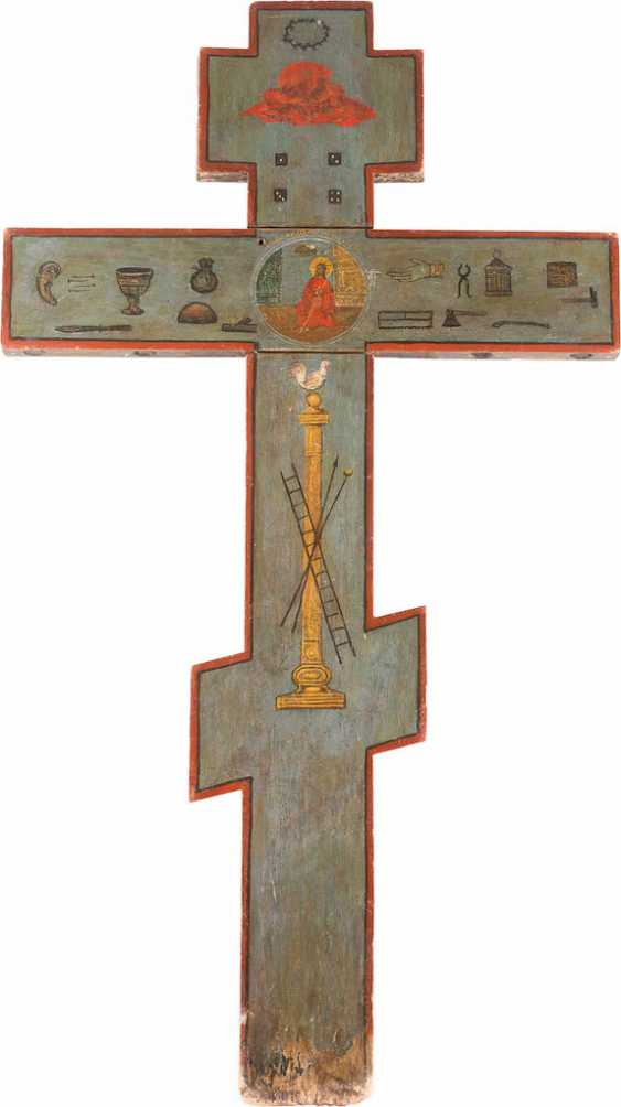 MONUMENTAL ICONOSTASIS CROSS - photo 2