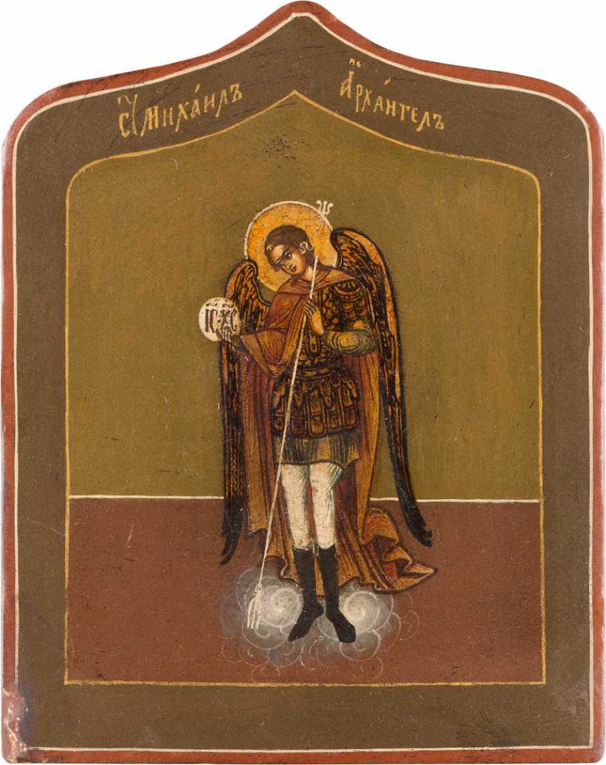 MINIATURE ICON WITH ARCHANGEL MICHAEL - photo 1