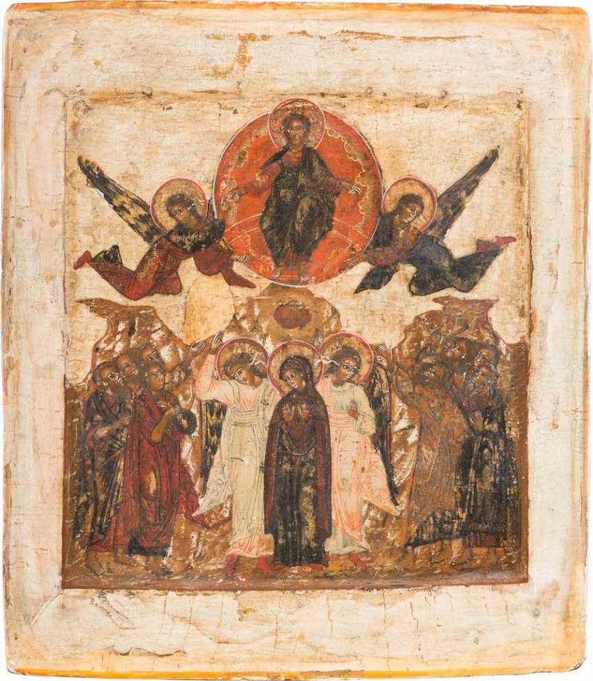 ICON OF THE ASCENSION OF CHRIST - photo 1