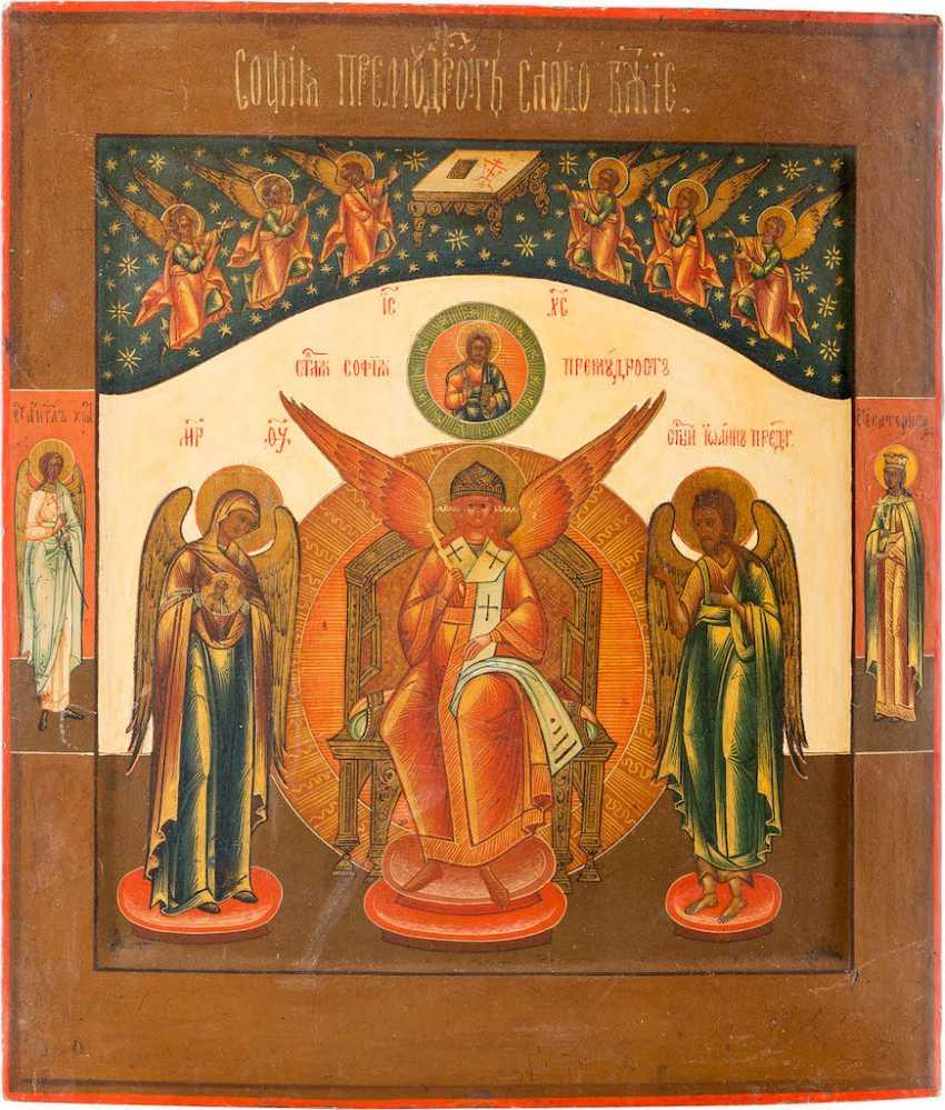 ICON OF SOPHIA, THE DIVINE WISDOM - photo 1
