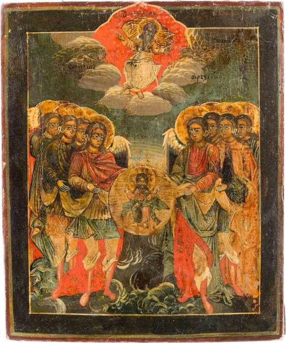 ICON OF THE SYNAXIS OF THE ARCHANGEL - photo 1